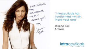 Jessica Biel Intraceuticals, Rejuvenate, Intraceuticals Treatment, Intraceuticals Oscar Facial
